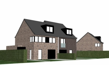 Project van 5 nieuwbouwwoningen